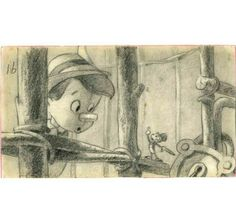 Storyboard for Pinocchio!