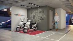 Vita Bom Retiro terá serviço pay-per-use de moto compartilhada.