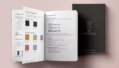 Image result for brand guidelines design Hotel Providence, Brand Guidelines Design, Typography, Image, Color, Letterpress, Letterpress Printing, Colour, Fonts