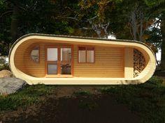 Cabana Eco-Perch cu conditii modern de trai