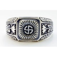 Fantasy WW II German Waffen SS Wiking division ring