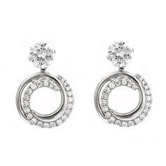 Convertible Diamond Earring Jackets