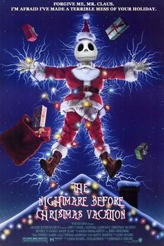 The Nightmare Before Christmas Vacation poster