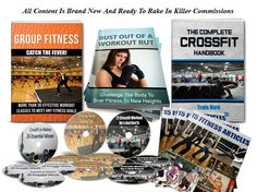 The Crossfit and Group Fitness PLR pack is of the highest quality and offers the most in-depth information to establish yourself as an authority in this segment of the fitness niche. Crossfit is one of the most widely used workouts that gets more than 160,000 monthly searches online and applies to a wide range target audience, including athletes, those who want to lose weight and build strength and anyone who wants to improve their overall condit