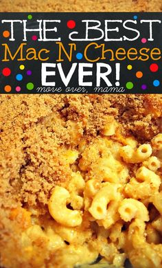 The BEST Mac N' Cheese you'll ever have! I have been looking for the perfect recipe to make and this one is beyond perfect. It's the number one favorite Food Network Magazine recipe by online reviews and I can't believe it took me this long to find it!