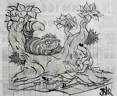 "Saatchi Art Artist Loui Jover; Drawing, ""wonderland"""