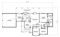 Country House Plan 61268 Level One