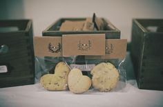cookie favors are a great end-of-the-night treat!