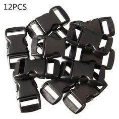 amazones gadgets Z, 12Pcs Black Plastic Curved Release Clasp Buckles Umbrella Rope Bracelet Buckl: Bid: 9,33€ Buynow Price 9,33€ Remaining…