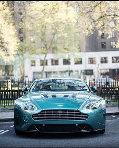 Aston Martin V12 Vantage GT Who knew that monsters were alive