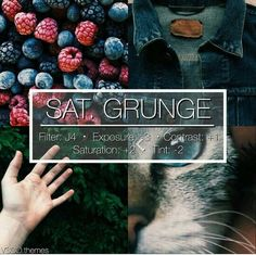 SAT. GRUNGE | This is a really cool saturated filter! This looks good with a lot of darker photos.. | Looks awesome for a feed if you can do it right!. | by Tamara fokken | WHI