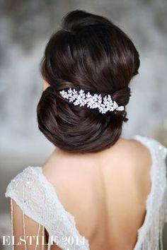 Wedding Hairstyles - Updo & slide