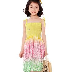 Aliexpress.com : Buy 2013 Summer Beach Dresses Little Girls Cotton Pretty Dress,Casual Dress,5pcs/lot Free Shipping K0472 from Reliable Girls Cotton Dress suppliers on SICIBAY - Women's Clothing : Selling for Donating