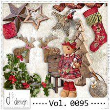 Vol. 0095 - Christmas Mix  by Doudou's Design  cudigitals.com cu commercial scrap scrapbook digital graphics#digitalscrapbooking #photoshop #digiscrap