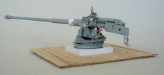 Pak 43/3 L/71 Umbau zur Ausführung als Sockellafette - 1/35