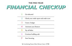 The Mid-Year Financial Checkup // Brittney Castro, CFP® // Financially Wise Women