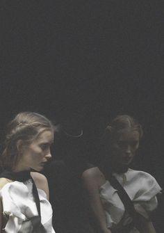 Iekeliene Stange by Max Snow, Purple Fashion Magazine Spring 2013