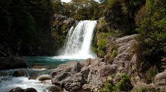 waterfall new zealand wallpaper download hd collection