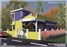 Image result for front elevation of house single floor
