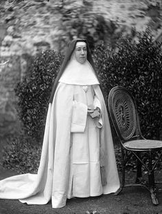 Sister Chrysostom Photo taken at the Presentation Convent, Waterford. Circa 1890.