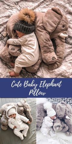 Plush Elephant Pillow Toy You and your little one will absolutely love this amazing Baby Elephant Pillow. It also makes the perfect baby shower gi. Elephant Pillow, Baby Elephant, Baby Shower Gifts, Baby Gifts, Baby Photo Frames, Baby Smiles, Baby Shower Princess, Baby Pillows, Baby Sleep