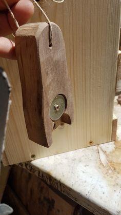 Beer opener from crap wood