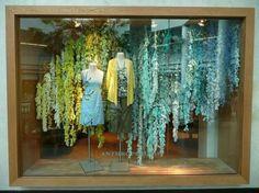 Steal wedding decor ideas from Anthropologie's window displays! #Wedding #Decor #Decorations #DIY #Creative #Crafty #Craft #Handmade #Anthropologie #Displays #Display
