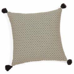 Housse de coussin carrée réversible en coton 40 x 40 cm ETHNIC