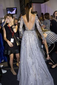 Zuhair Murad backstage at Haute Couture * FW 2014-15
