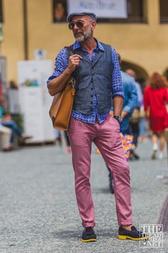 TheTrendSpotter captures the best street style at day two at Pitti Immagine Uomo 88 Spring/Summer 2016...