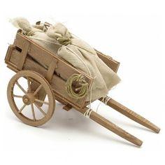 Carro con sacchi presepe Napoli | vendita online su HOLYART