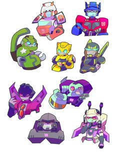 Transformers Animated Series