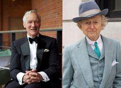 Cavalheiros, idosos e elegantes