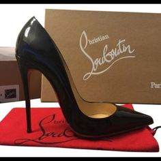 Authentic so Kate's. Never worn outside. Super hot so kates. Christian Louboutin Shoes Heels