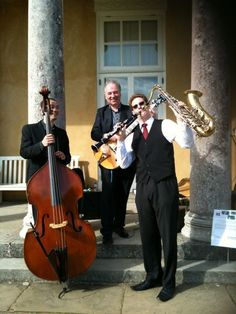 Fun for summer weddings and parties - jazz trio