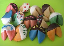 Cool decorated dipped cookies!