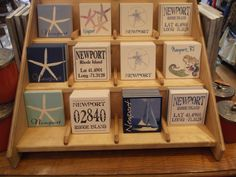 Tell someone you've been thinking of them while on vacation by giving them one of our #Newport coasters! #GiftIdeas #Coasters #Thinkingofyou