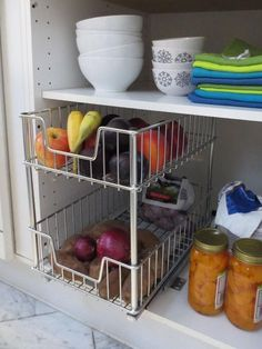 TRINITY's EcoStorage™ Sliding Wire Drawers are a great addition to any kitchen or storage area. These drawers add convenience, accessibility, and visibility to all your items – whether in a cabinet or on a wire shelving unit.
