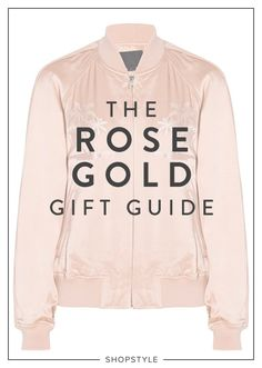 The hottest trending tone for the season? It's rose gold, and we've got the best items for the high-shine-pink-metal-loving fan.