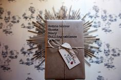 Gothic horror, ghosts, scary, chilling ambience and a classic - Don't judge a book by its cover. Morticia Adams, Blind Dates, Gothic Horror, Happy Colors, Scary, Gift Wrapping, Colour, Book, Gift Wrapping Paper