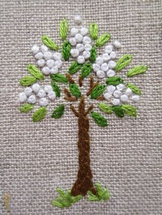 hand embroidery - Hand embroidery Greeting Card by Peacockbox ...