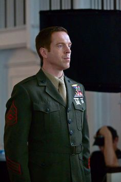 Damien Lewis as Nicholas Brody in Homeland. The Forsyte Saga, Famous Men, Famous People, Damian Lewis, Band Of Brothers, Hot Guys, Hot Men, Men In Uniform, Country Guys