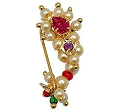 Nath Bridal, Rajput Jewellery, Big Noses, Nose Jewelry, Festival Wedding, Pink Stone, Piercing, Plating, Drop Earrings