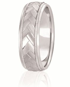 Chevron Design Comfort Fit Wedding Band With Milgrain And High Polished Edges For Men & Women Available In Various Widths & Finishes In Your Choice Of & White, Yellow, Rose & Two Tone Gold, Platinum & Palladium Wedding Bands, Wedding Day, When I Get Married, One Ring, Gold Platinum, Christmas Wedding, Bliss, Chevron, Wedding Inspiration