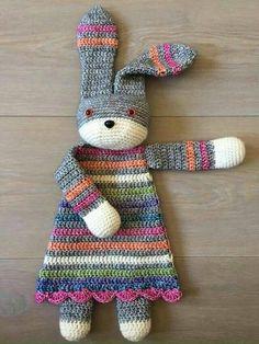Darling Bunny Ragdoll – Crochet a Great Baby Gift!   KnitHacker