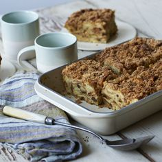 Panera French Toast Casserole w Cinny Crust. Here's a delicious cross between bread pudding, strata, and French toast.