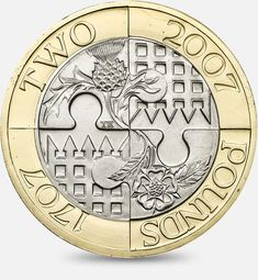United Kingdom - Tercentenary of the Act of Union between England and Scotland - English Coins, Coin Design, Coins Worth Money, Coin Worth, Gold Bullion, England And Scotland, World Coins, Rare Coins, Coin Collecting