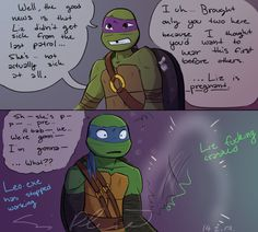 "Just a little Raph and Ghost cuteness- sorta X""D Raph stop, that's no toy <n < Yeah if Raph was to find solace in any of the Street Punks, I'd say Ghost would fit his interest most. I mean wh..."