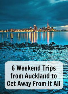 6 Weekend Trips from Auckland to Get Away From It All. If you need a break you will love these weekend trips perfect to explore more of New Zealand. Ann K Addley travel blog