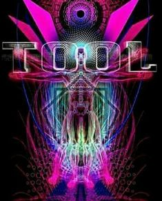 Psychedelic Rock Bands, Psychedelic Art, Tool Band, Alex Grey, Wall Decals, Wall Art, Tool Sheds, Blow Your Mind, Pearl Jam
